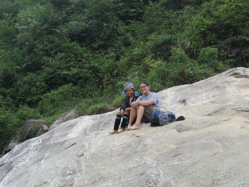 Kuli and I in Sapa, Vietnam