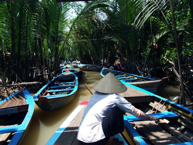 Paddling down the Mekong Delta — in Vietnam