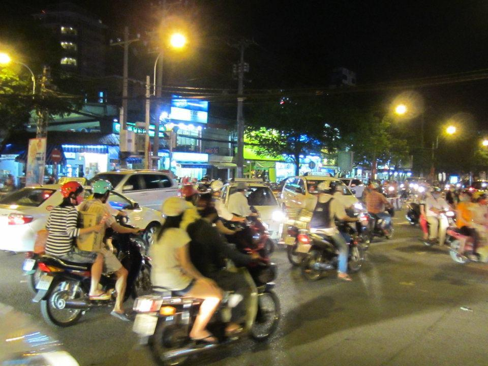 traffic in Saigon — in Vietnam