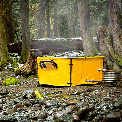 Original Nomad's Collapsible Hot Tub