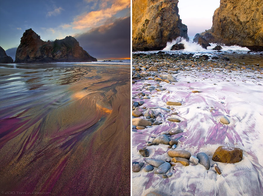 Pfieffer Purple Sand Beach, California