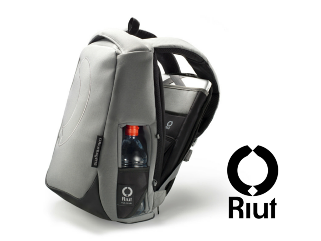 The RiutBag, courtesy of their Kickstarter page.