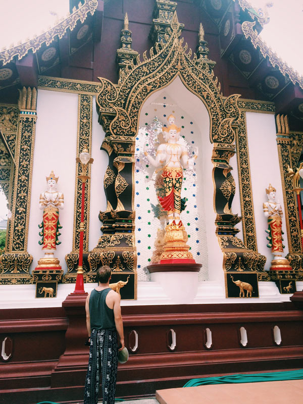 Chiang Mai is the rich cultural city in the north of Thailand, famous for its temples.