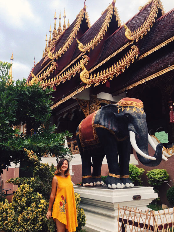 If you couldn't tell, elephants are pretty big in Thailand!