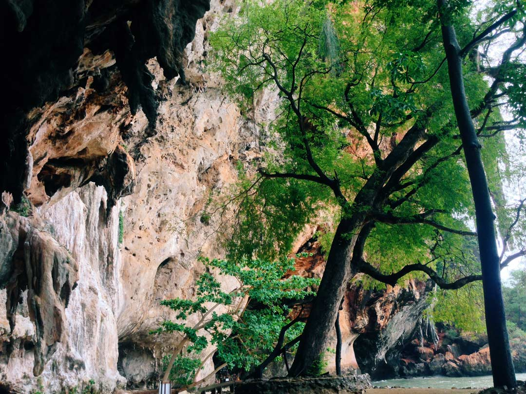 Pranang Cave was located right next to (you guessed it) Pranang Beach.