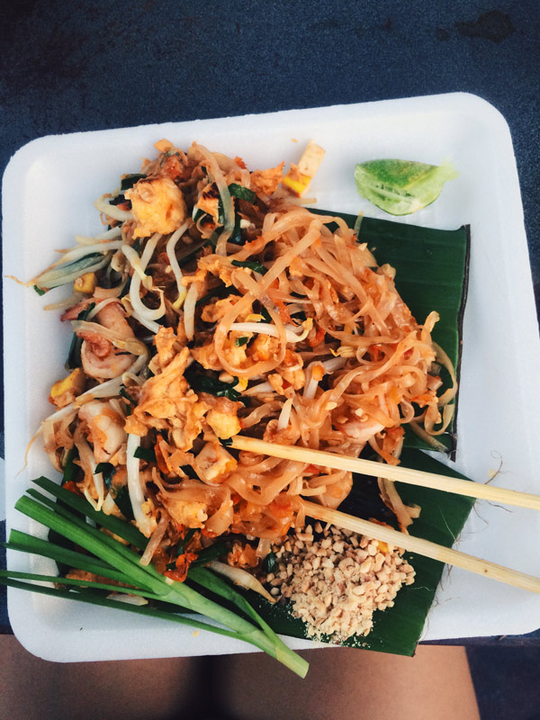 Of the many food stands around the old city, Pad Thai is an obvious choice for tourists. But really, can you blame me?