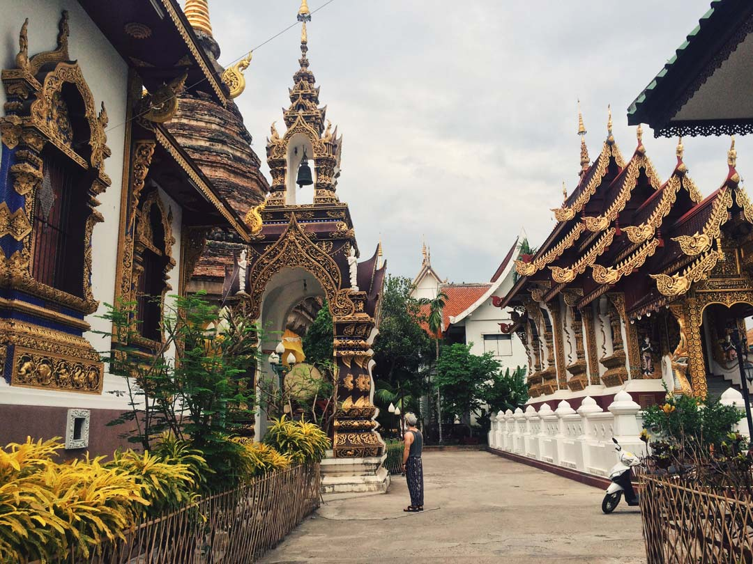 You can spend hours just temple hopping in Chiang Mai.