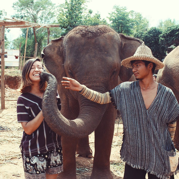We spent another day visiting Elephant Jungle Sanctuary, a wonderful no-ride elephant park where we got to feed and play with some very happy elephants!