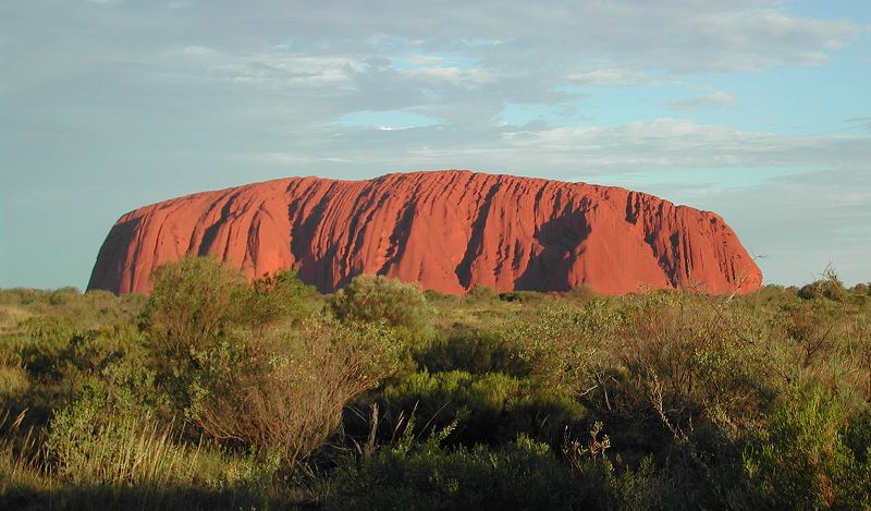 Ayers Rock, also known as Uluru