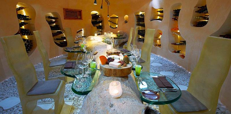 Underground wine cellar and chocolate cave at Gili Lankanfushi, North Male Atoll, Maldives