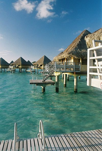 Overwater Bungalows On Pinterest Intercontinental Bora Le Moana Resort