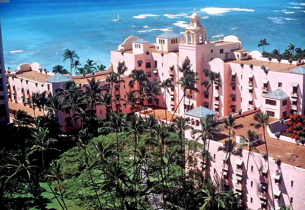 The Royal Hawaiian - The Royal Hawaiian. Copyright The Royal Hawaiian.