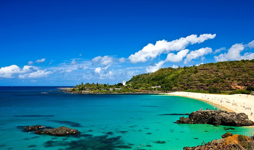 Waimea Bay, North Shore, Oahu - Reviews, Pictures, Map