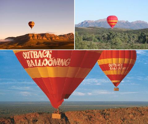 60 Minute Balloon Flight - Outback Ballooning.