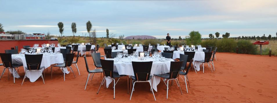 at the sounds of silence experience you can dine under the canopy of