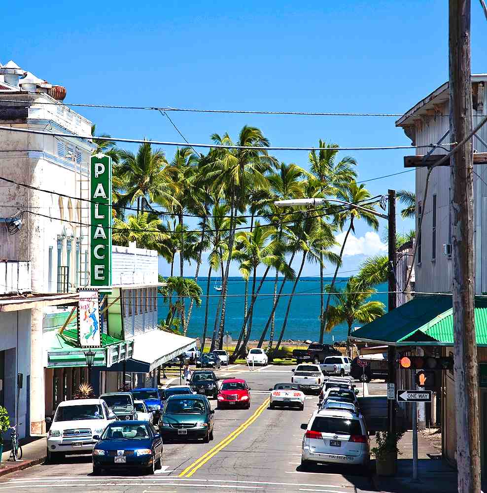 Old Hilo - Downtown Hilo. Copyright Hawaii Tourism Authority (HTA) / Tor Johnson.