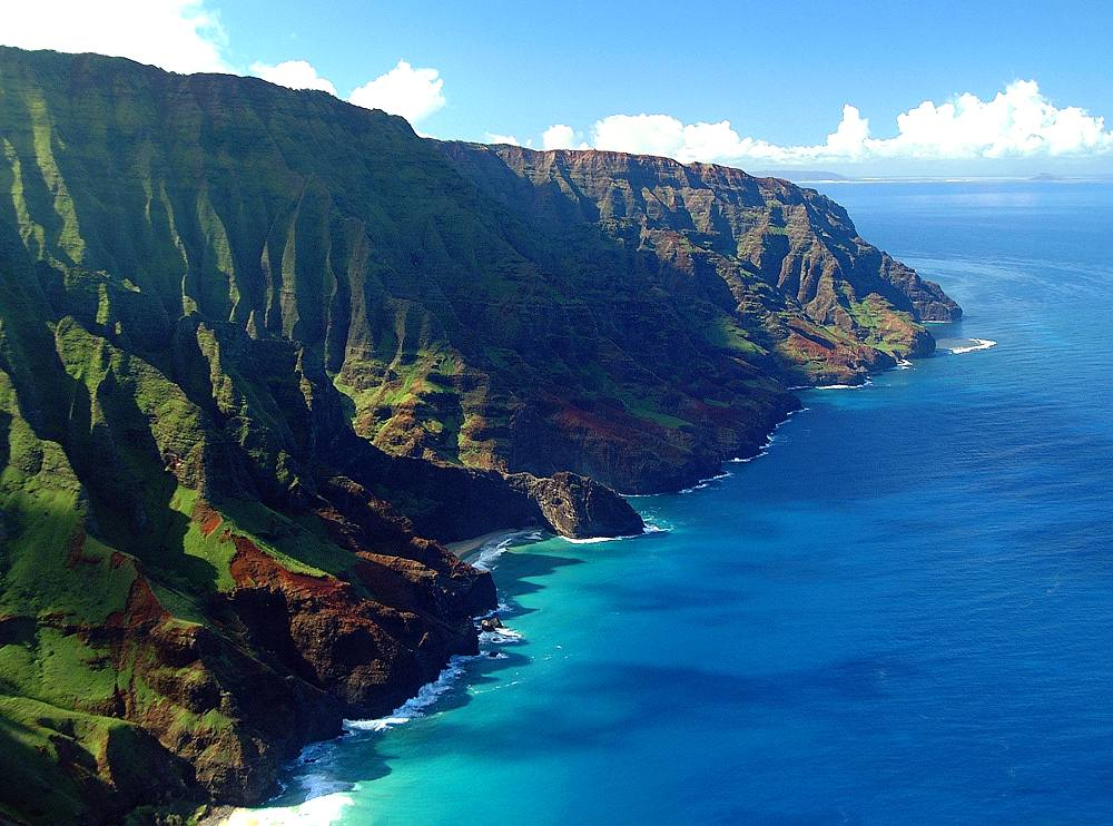 Na Pali Coast - Na Pali Coast. Copyright Hawaii Tourism Authority (HTA) / Ron Garnett.