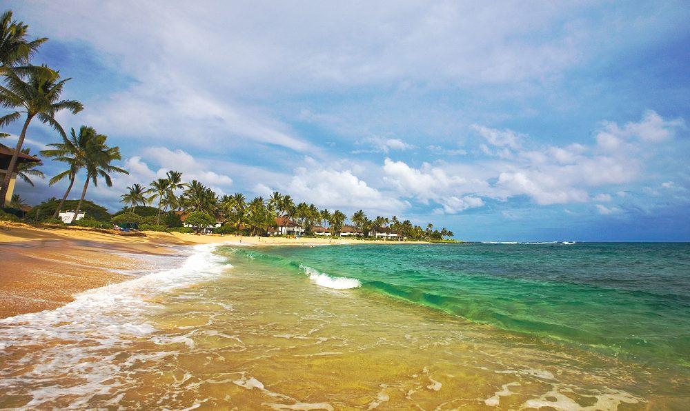 Po'Ipu Beach, Kauai - Reviews, Pictures, Map | Visual
