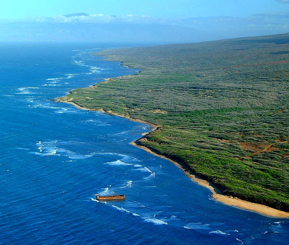 History Timings Attractions Beach: Kaiolohia (Shipwreck Beach), Lanai