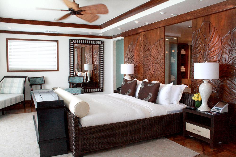Master Bedroom Hotel oceanfront imperial suite - master bedroom, from photo gallery for