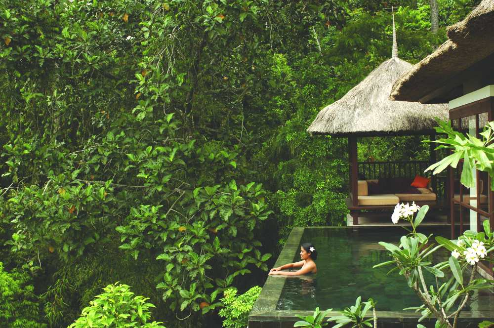 Panoramic deluxe pool villa from photo gallery for ubud for Pool garden mountain resort argao