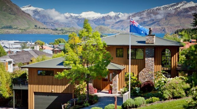 Overview - Wanaka Springs Lodge. Copyright Wanaka Springs Lodge.
