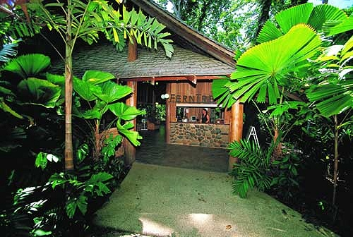 Welcome to the Ferntree Rainforest Lodge - Ferntree Rainforest Lodge - Cape Tribulation. Copyright Ocean Hotels.