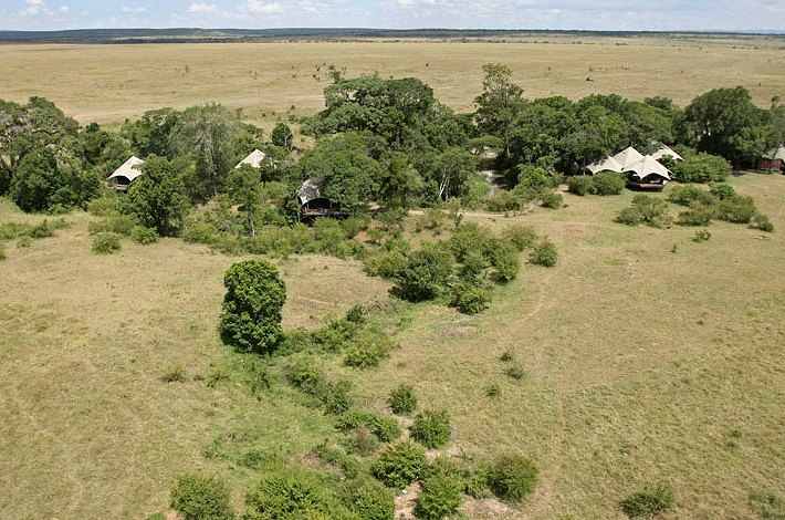 Mara Plains Camp - Mara Plains Camp. Copyright Great Plains Conservation.