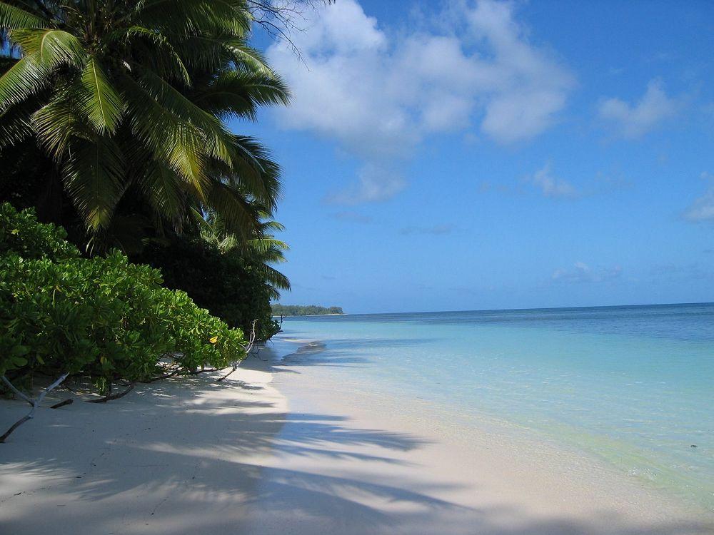 Wonderful The Beach   Desroches Island Resort. Photo Copyright Michael Cottam.