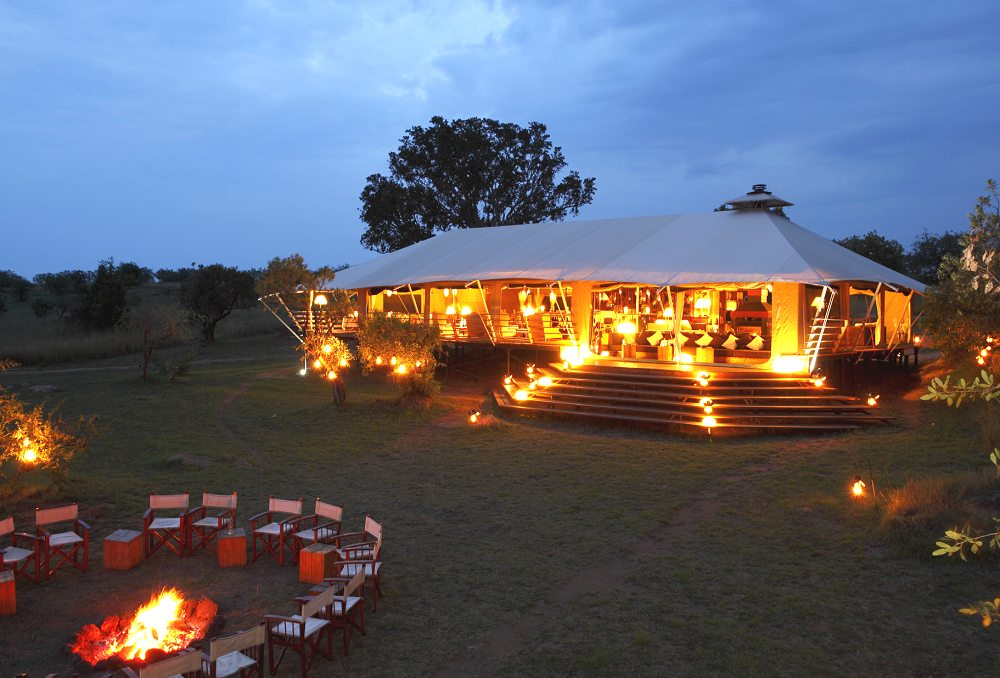 Serengeti Bushtops Main Building - Serengeti Bushtops. Copyright Orion Hotels Ltd.
