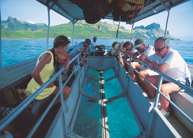 Glass Bottom Boat From Photo Gallery For Captain Cook Cruises Fiji Cruise Ships Photo 12977 Visual Itineraries