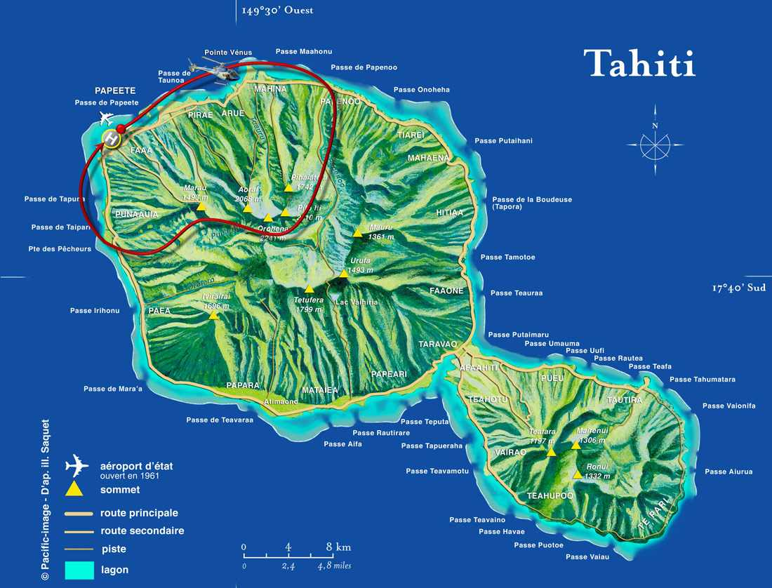 Tahiti Scenic Helicopter Tour, French Polynesia - Reviews ...