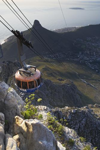 Overview - Table Mountain Aerial Cableway. Copyright Table Mountain Aerial Cableway.