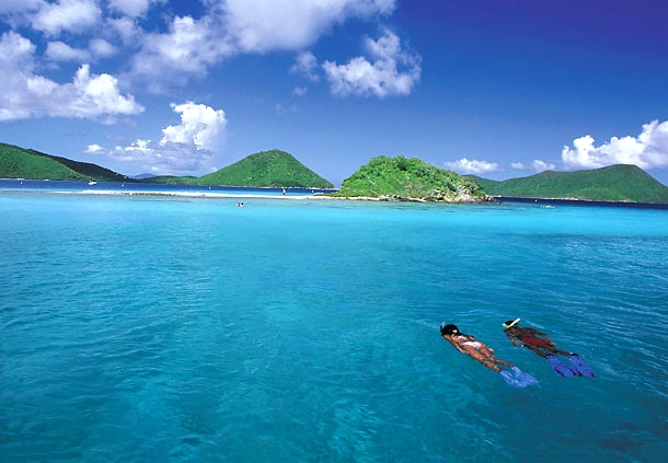 St Thomas Snorkeling Frenchman S Reef Morning Star Marriott Beach Resort
