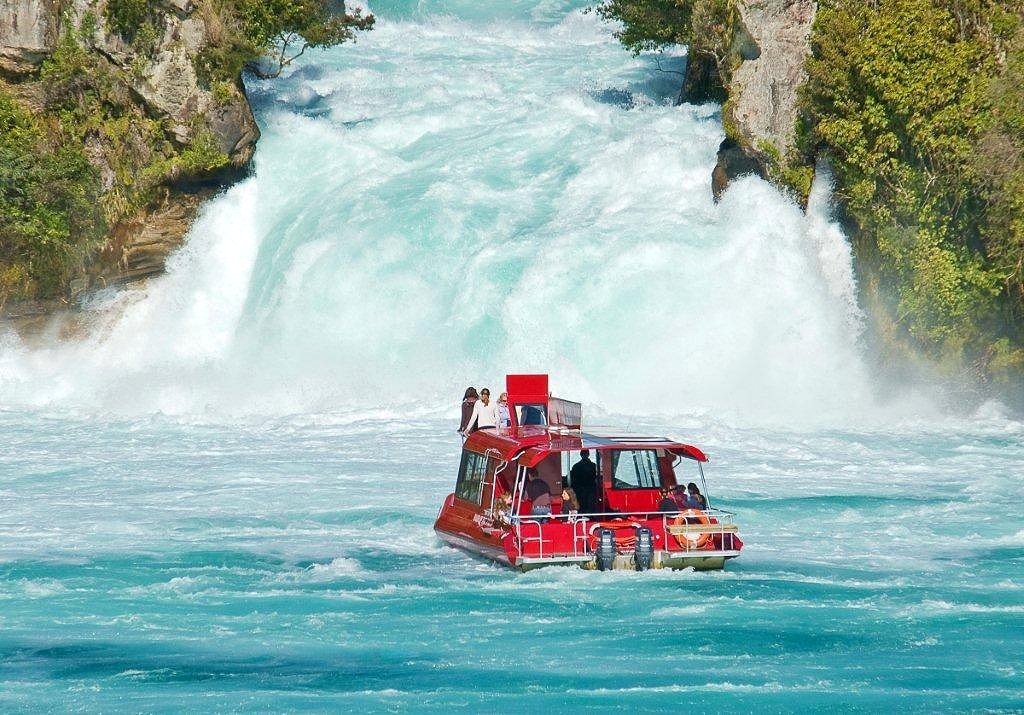 Cruise Information - Huka Falls River Cruise. Copyright Huka Falls River Cruise.