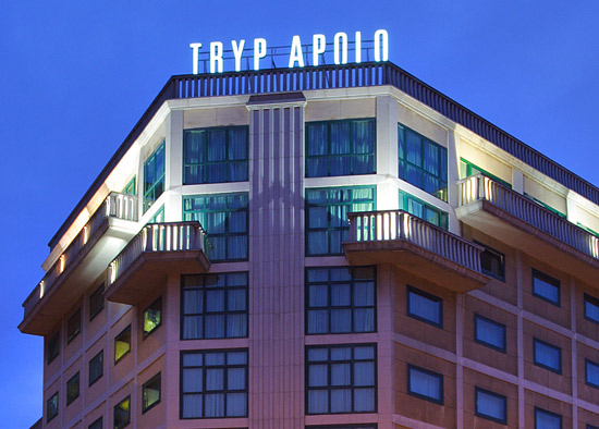 Overview - TRYP Barcelona Apolo Hotel. Copyright TRYP Barcelona Apolo Hotel.