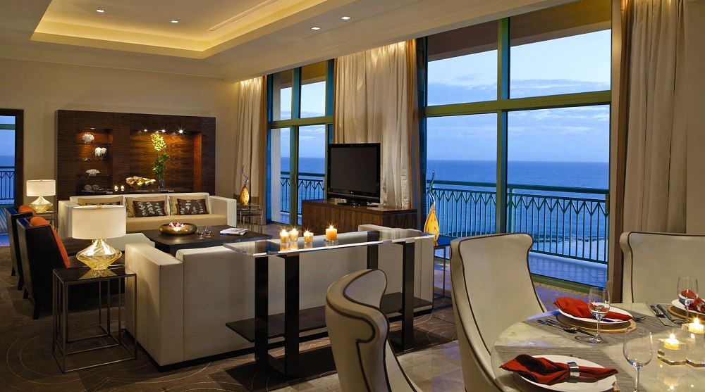The reef penthouse from photo gallery for atlantis for 2 bedroom terrace suite atlantis