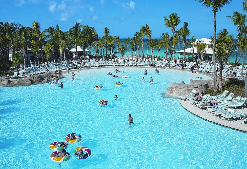 River Pool Atlantis Paradise Island Beach Towers
