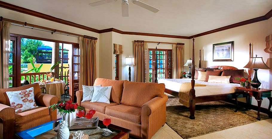 Beachfront 2 Bedroom Suite - Beaches Negril Resort & Spa.