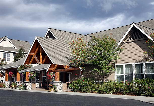 Entrance - Residence Inn Anchorage Midtown. Copyright Marriott.