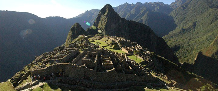 Machu Picchu Ruins - Machu Picchu Sanctuary Lodge. Copyright Orient Express.