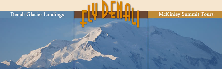 Only with Fly Denali - Fly Denali. Copyright Fly Denali.