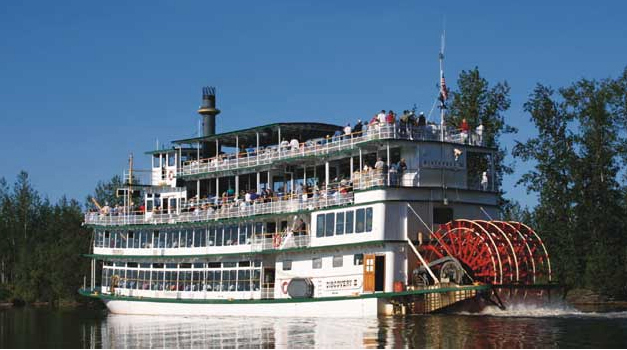 Welcome Aboard - Alaska Riverboat Discovery. Copyright Alaska Riverboat Discovery.