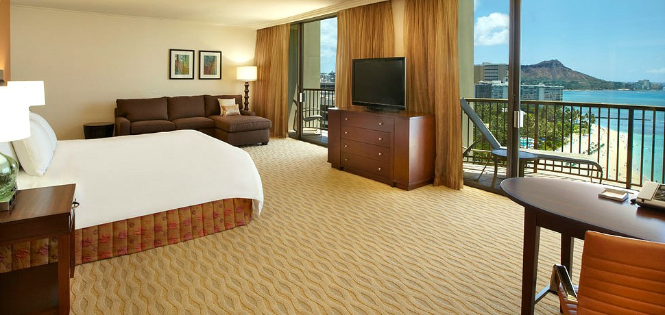 Rainbow Tower Junior Suite Hilton Hawaiian Village Waikiki Beach Resort