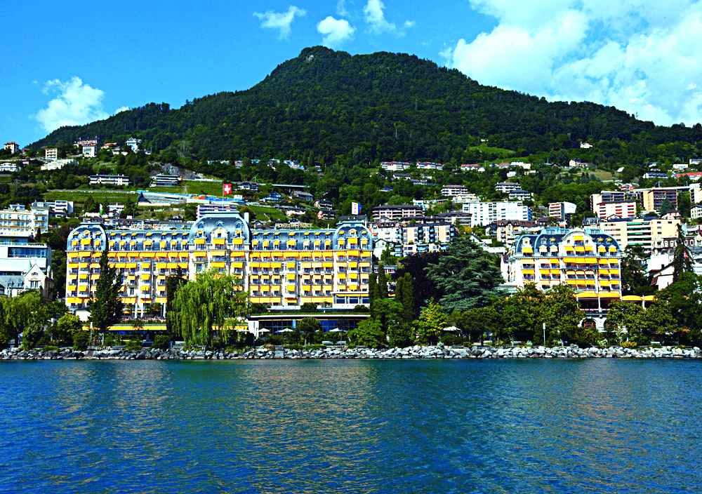 Montreux Palace Hotel Switzerland