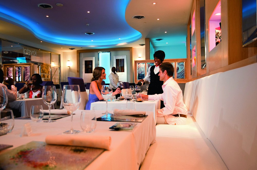Krystal Fusion Restaurant From Photo Gallery For Hotel Riu