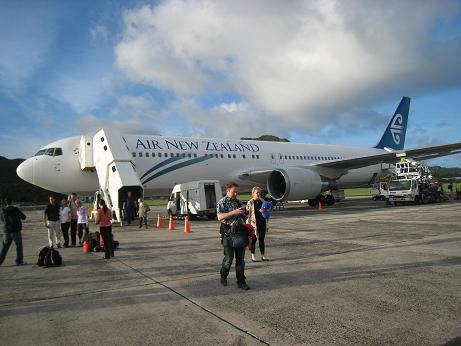 Air New Zealand Cook Islands Reviews Pictures Videos Map Visual Itineraries