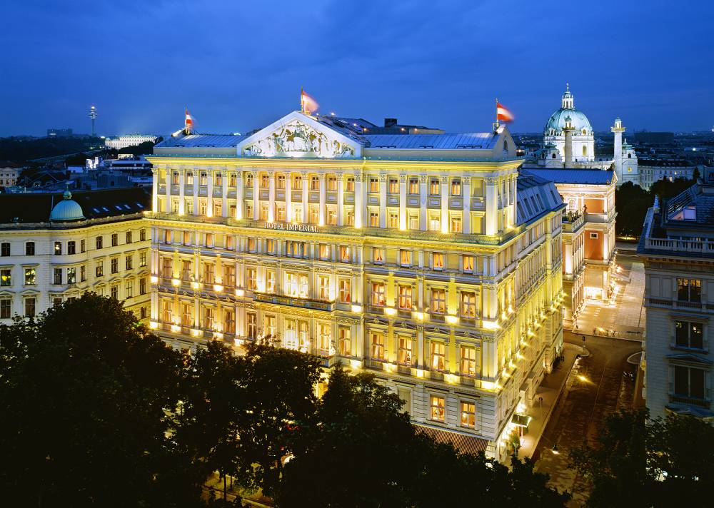 Hotel imperial a luxury collection hotel austria for Hotel collection hotels