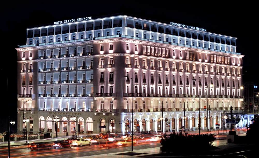 Hotel Grande Bretagne A Luxury Collection Photo Copyright Starwood