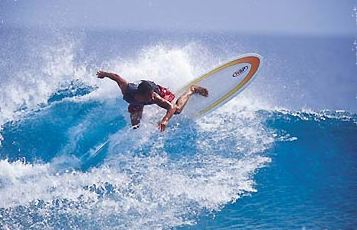 The First Tahiti Surf School - Surf & Bodyboard. Copyright Ecole de Surf.